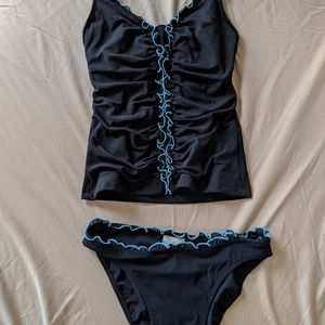 Profile by Gottex two-piece swimsuit 8/small New
